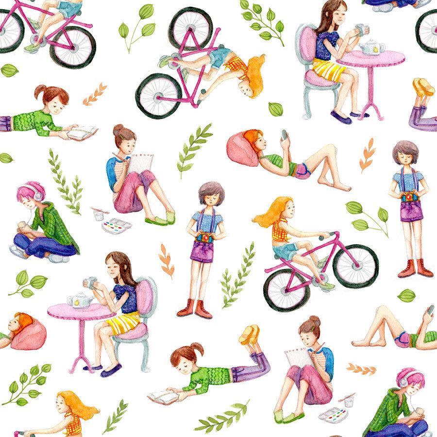 Busy Girls