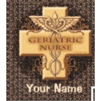 Geriatric Nurse Caduceus