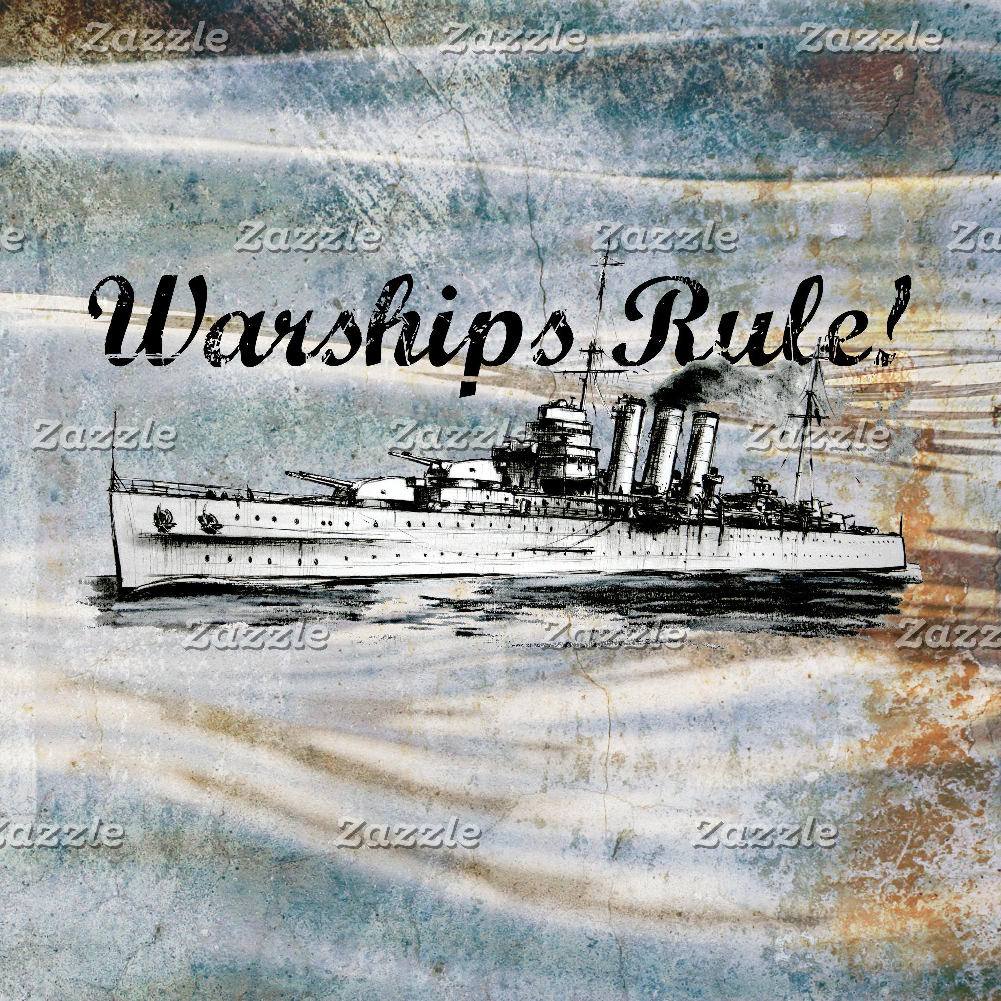 World War 2 Warship
