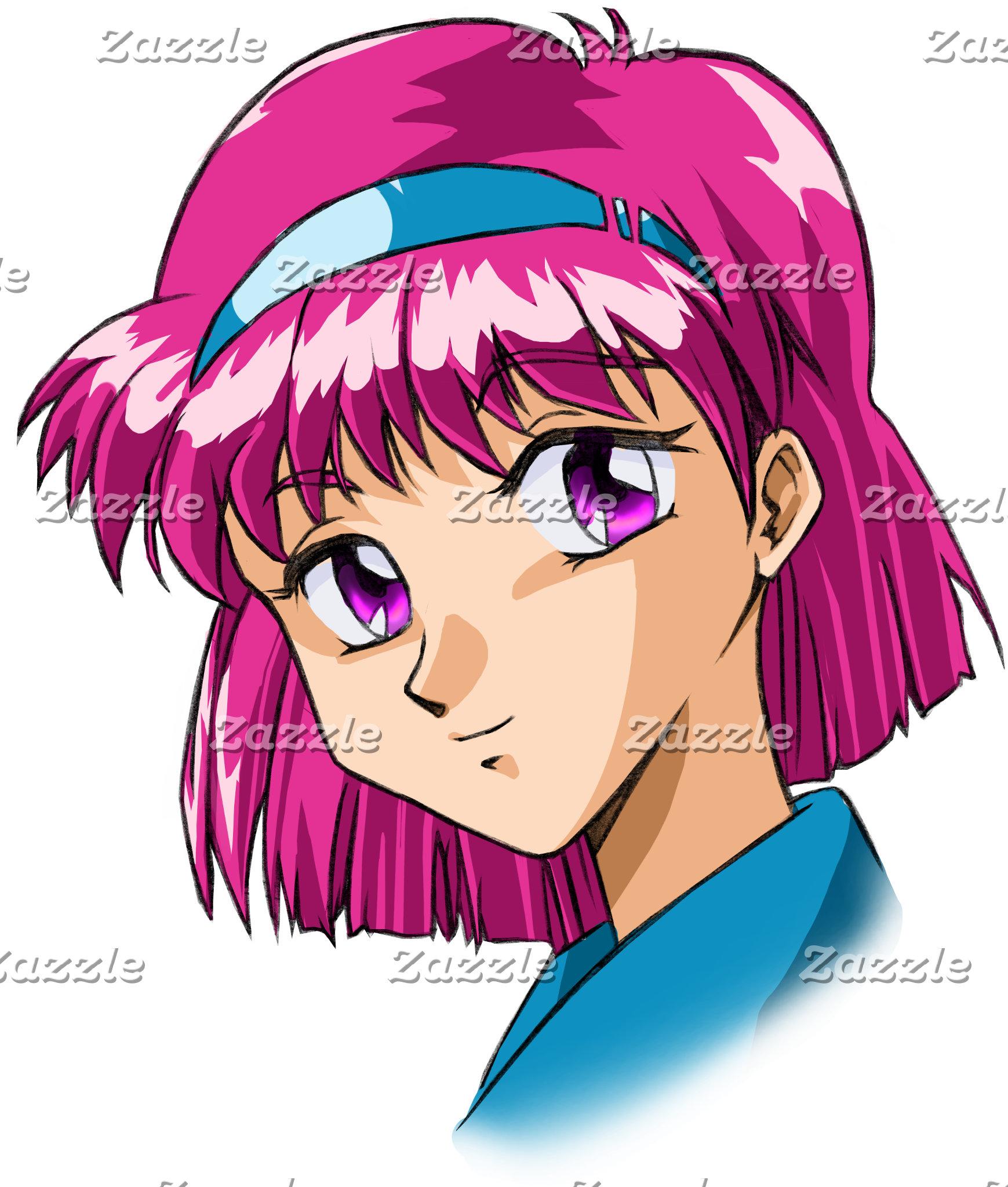 Anime Character Heads