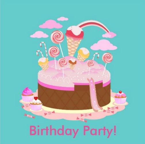 Candy and Cake Birthday Party Theme