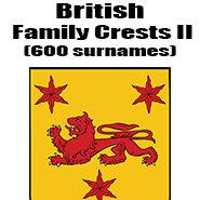 British Family Crests II