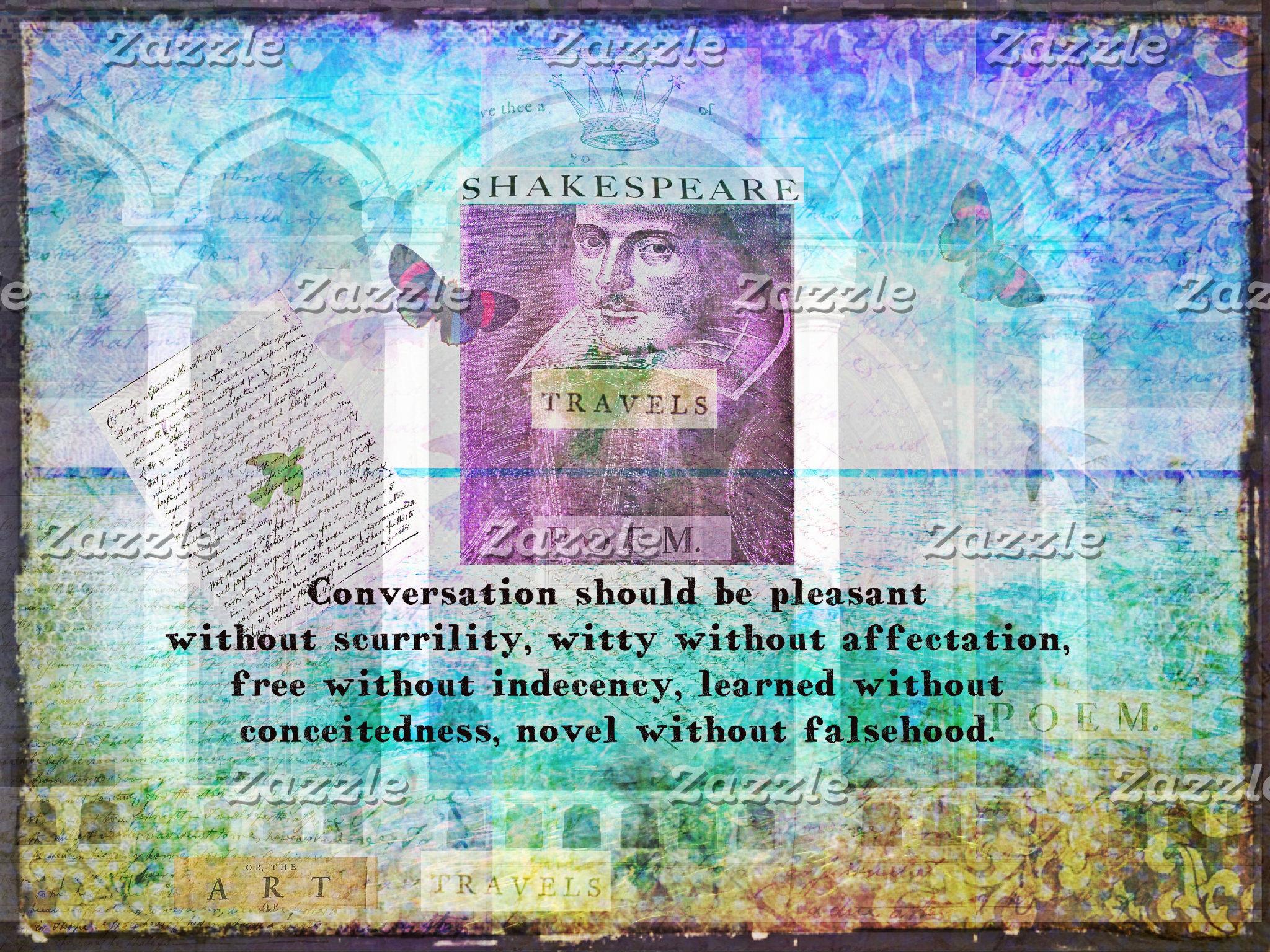 Conversation should be pleasant without scurrility