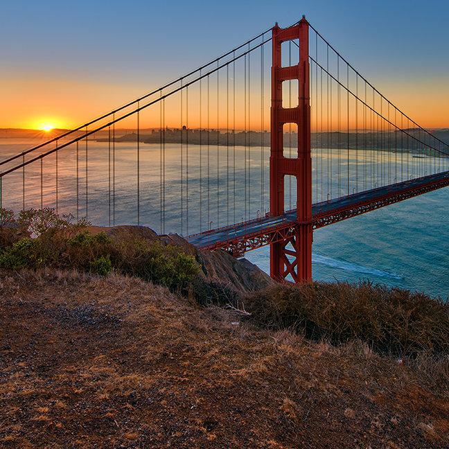 An absolutely stunning sunrise