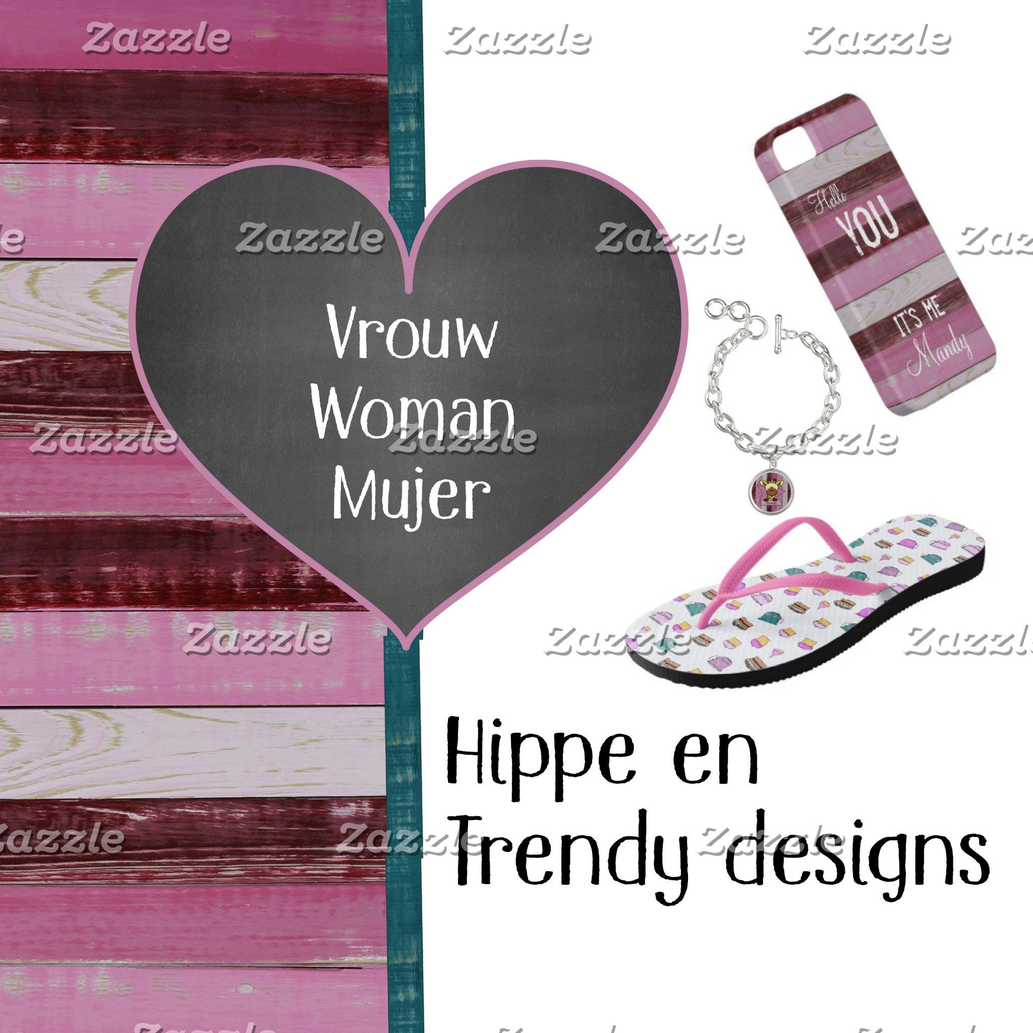 Hippe en trendy designs