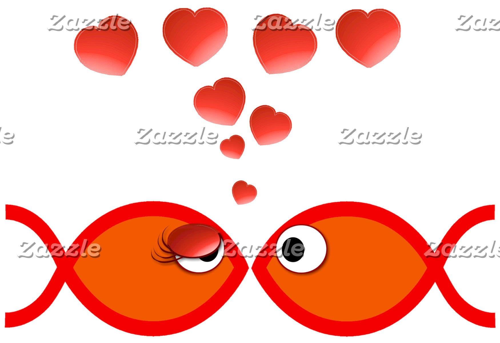Christian Valentine Fish