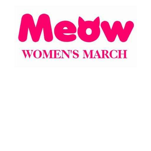 Pink Cat Ears Women's March