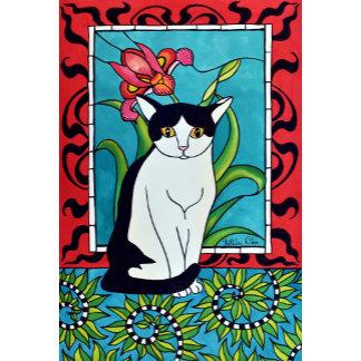 Cat Art - Pretty Me In Tuxedo
