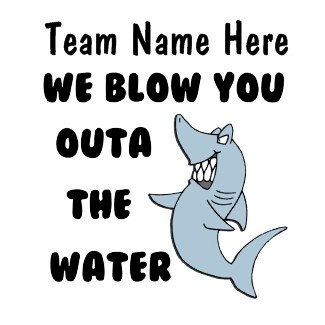We blow you outa the water