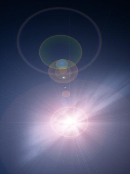 abstract 1 sun glare