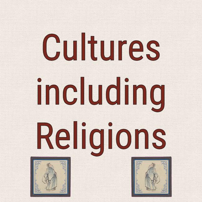 Cultures including Religion