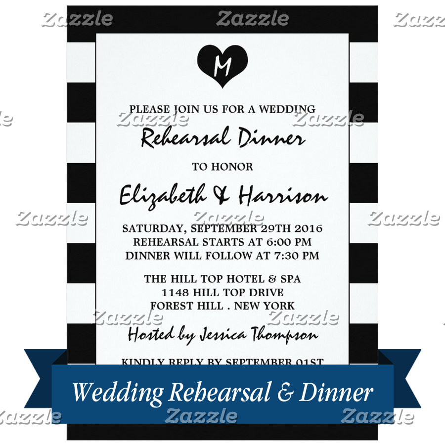 Wedding Rehearsal & Dinner