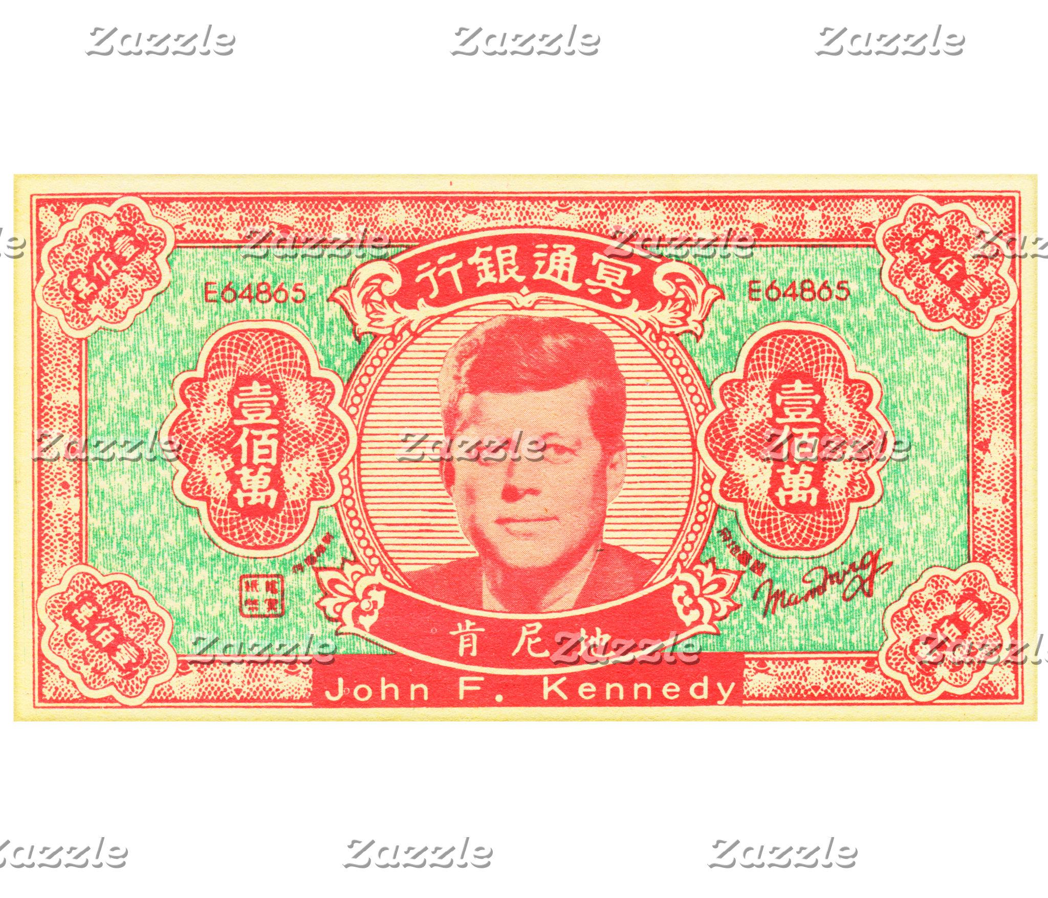 John F Kennedy Joss Money