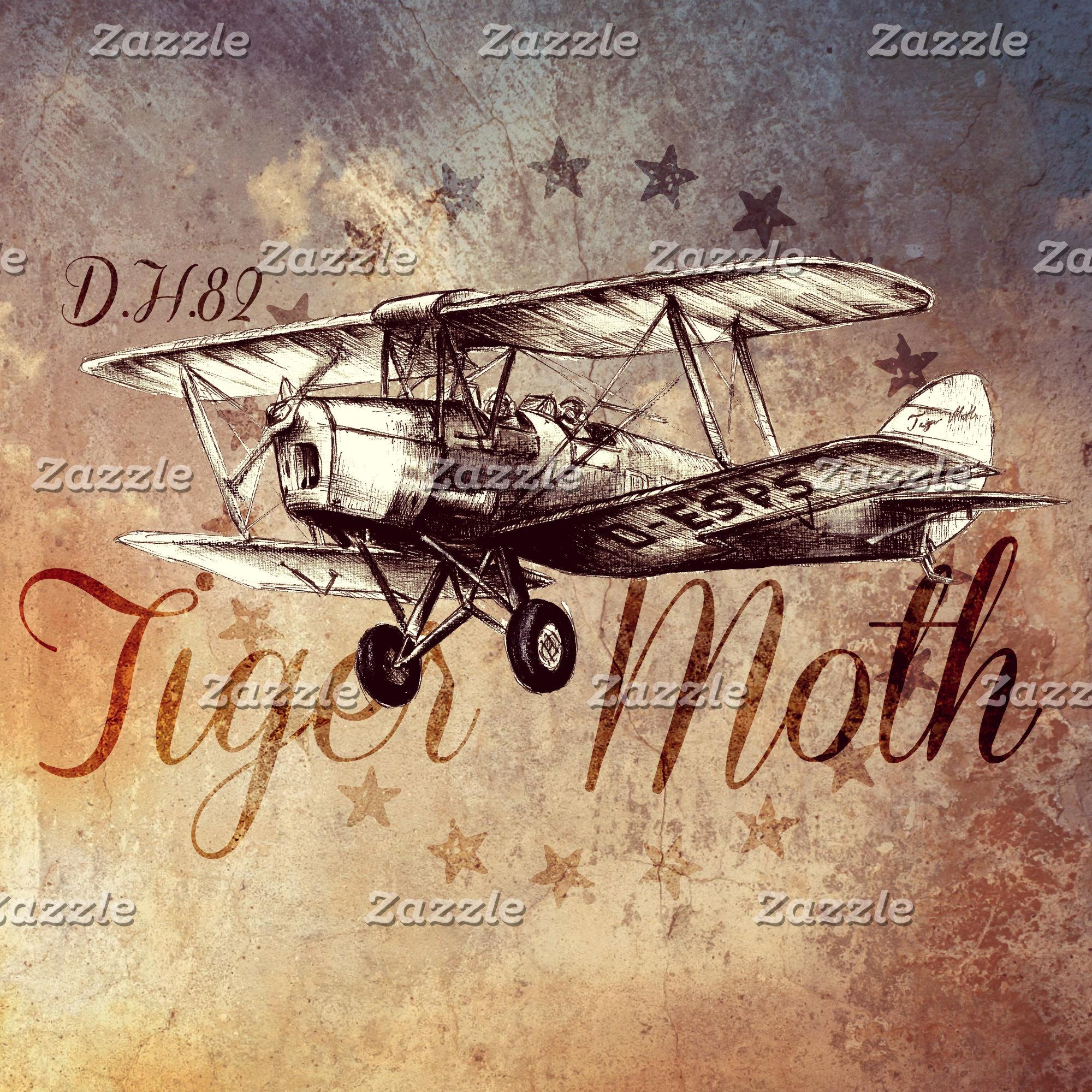 DH.82 Tiger Moth Vintage Biplane