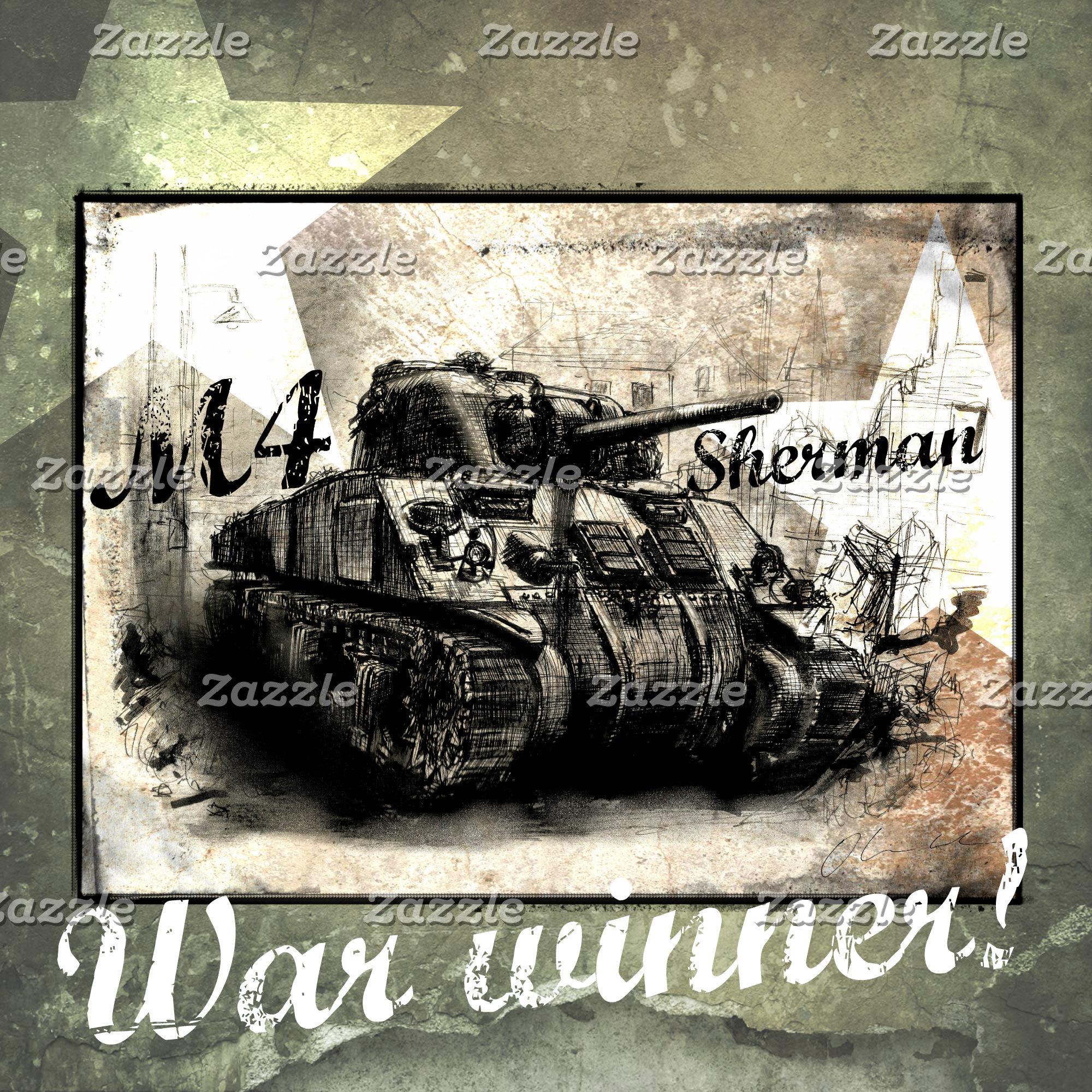 M4 Sherman WW2 American Tank