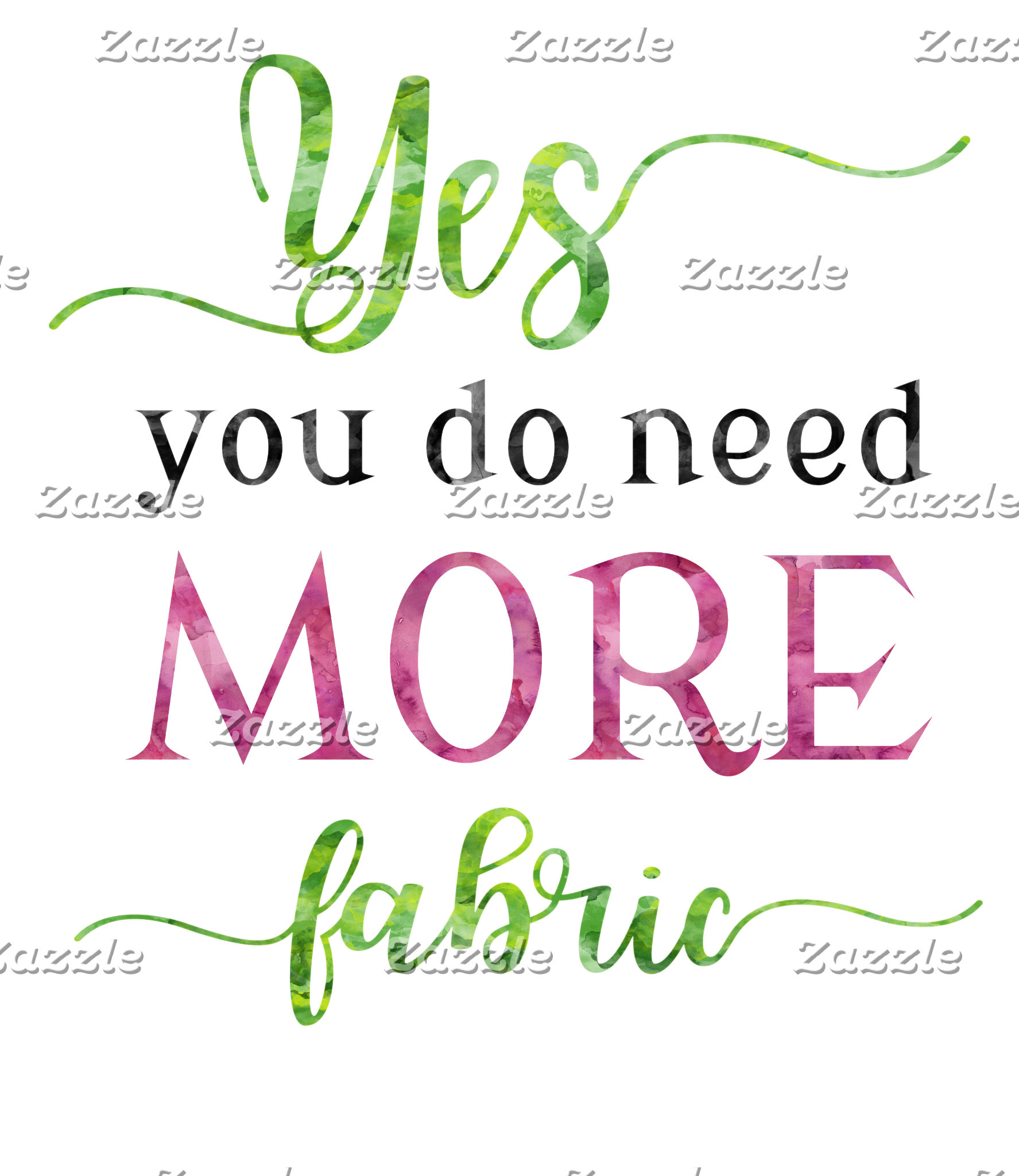 Yes, You Do Need More Fabric
