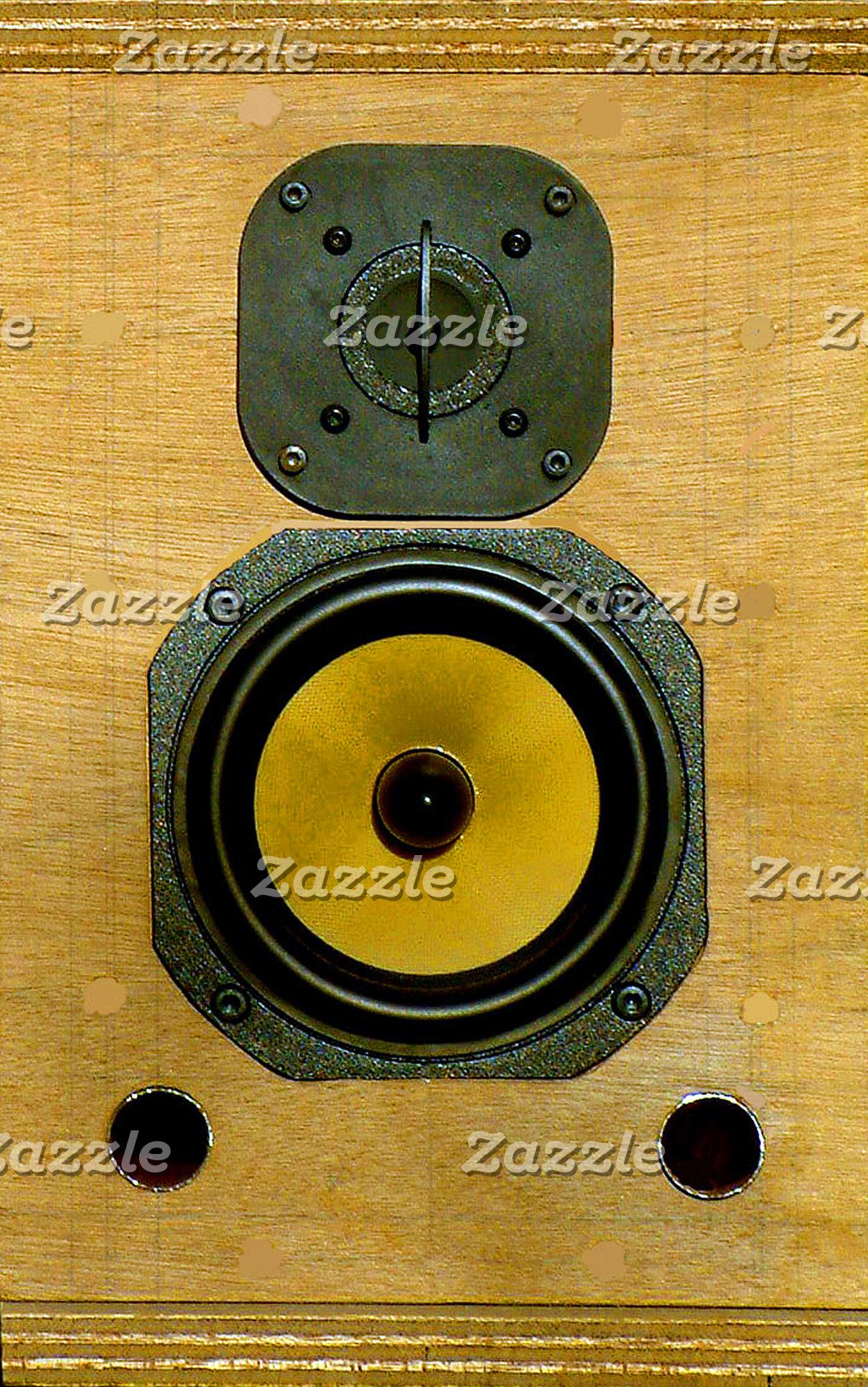 Retro Wooden Speaker