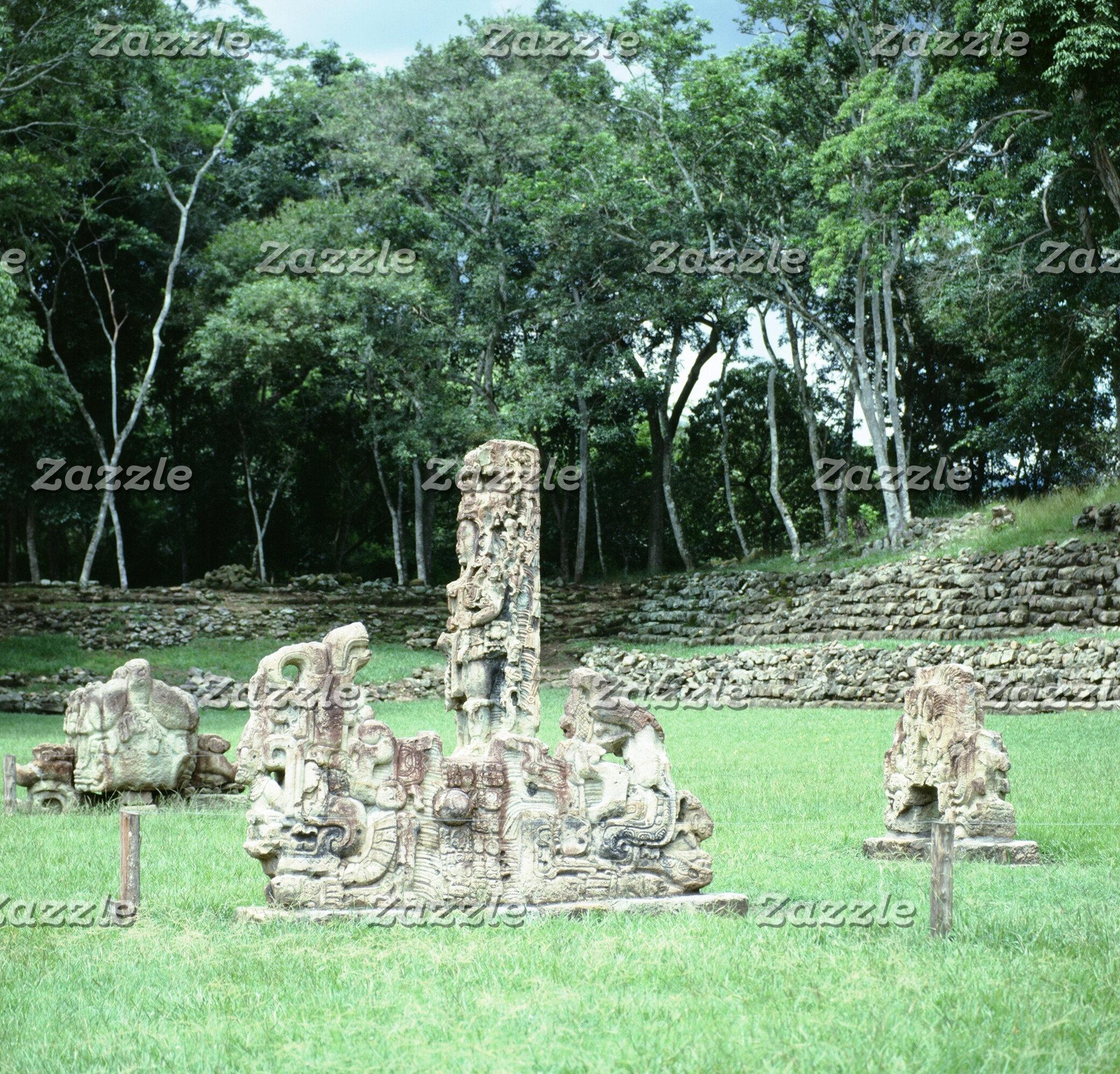 Ancient Mayan Magnets