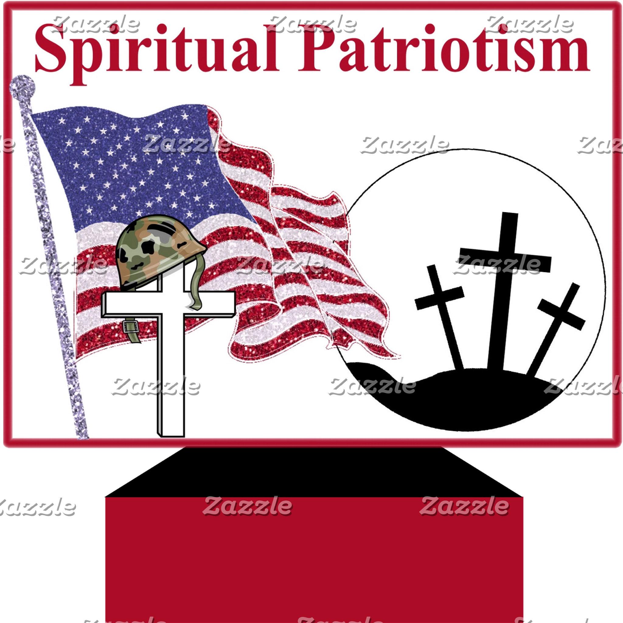 Spiritual Patriotism - Scripture, Am Soldier ++