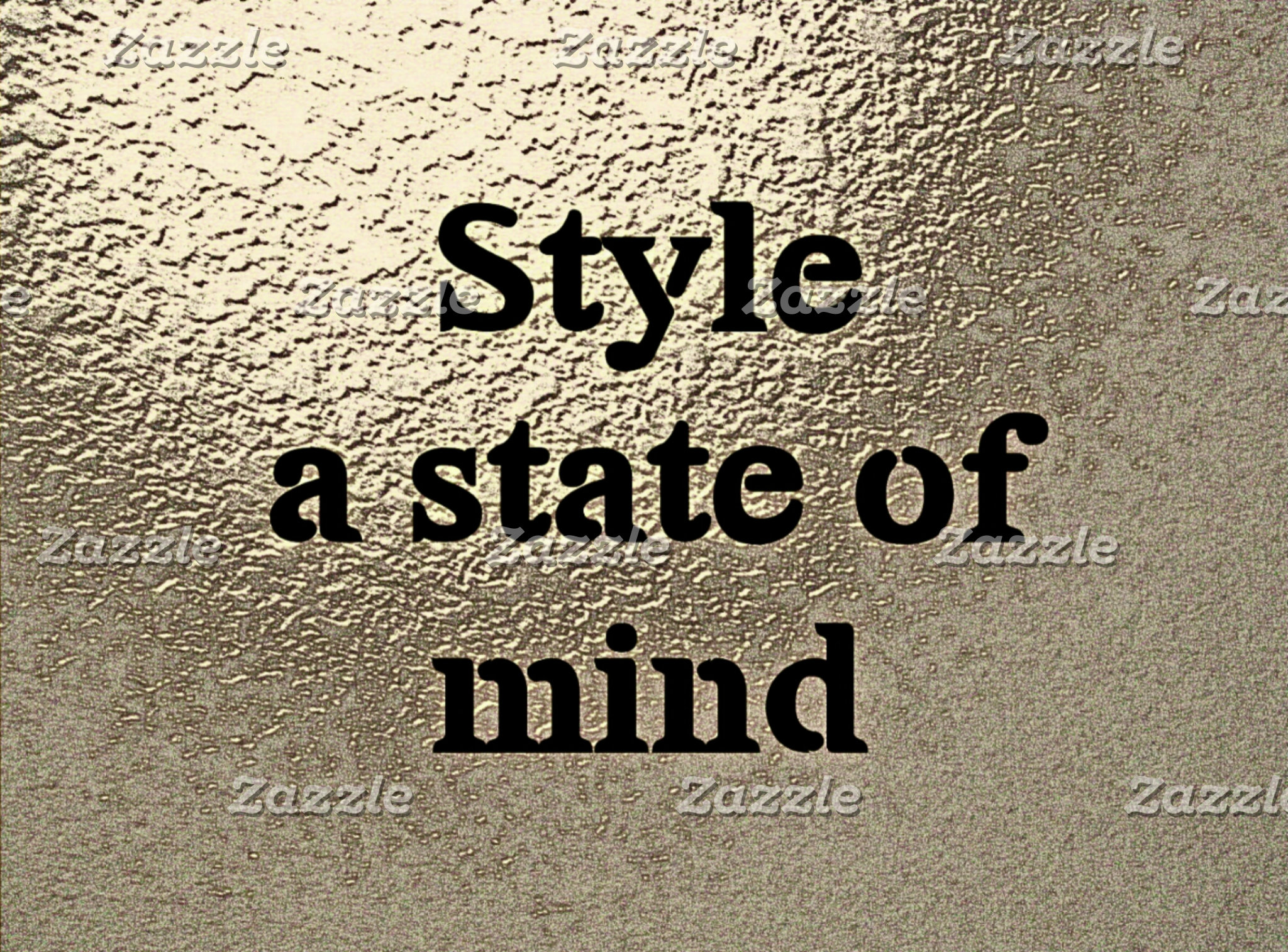Style a state of mind
