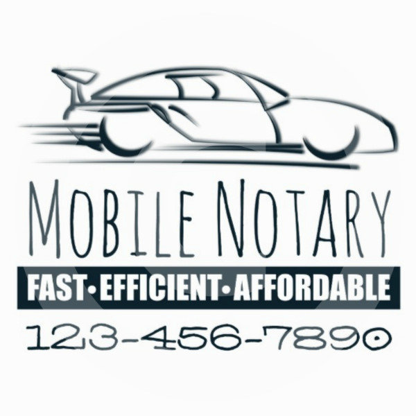 Mobile Notary Fast Car