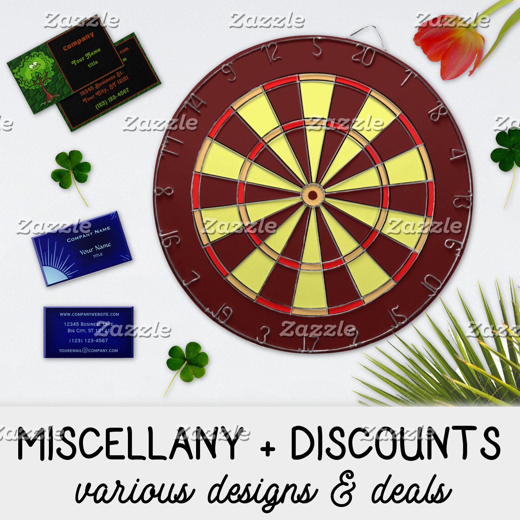MISCELLANY & DISCOUNTS