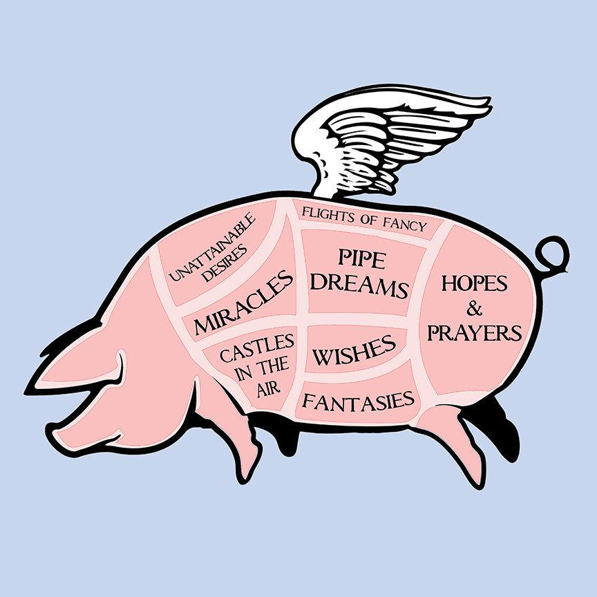 Flying Pig Cuts