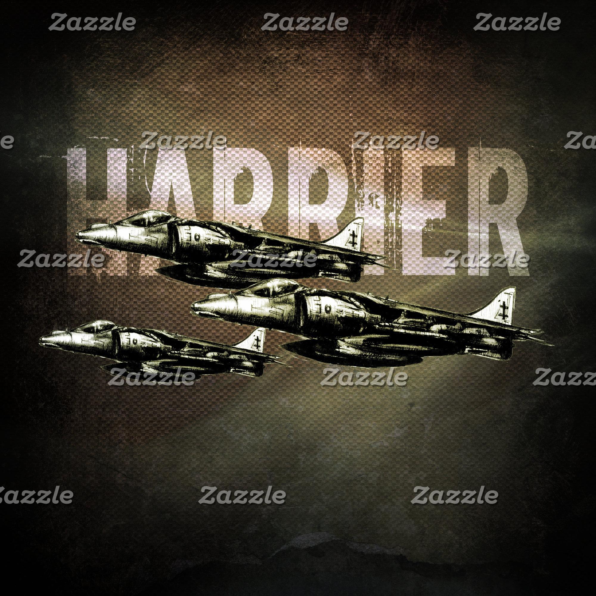 Harrier Jet Fighter-Bombers