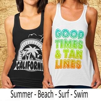 Summer Beach Surf & Swim