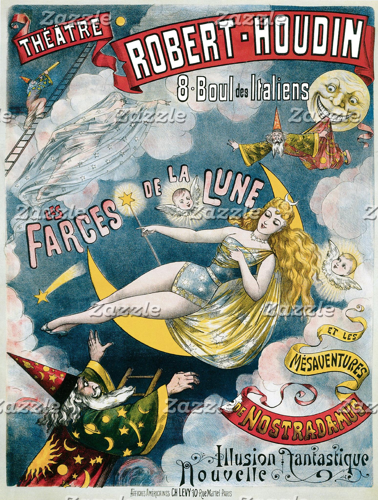 Vintage Magic Posters