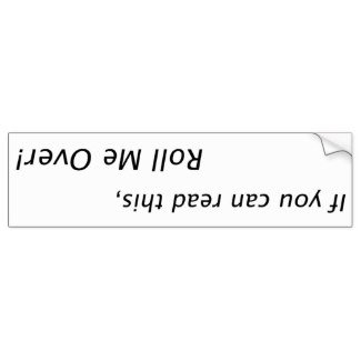 Funny bumperstickers