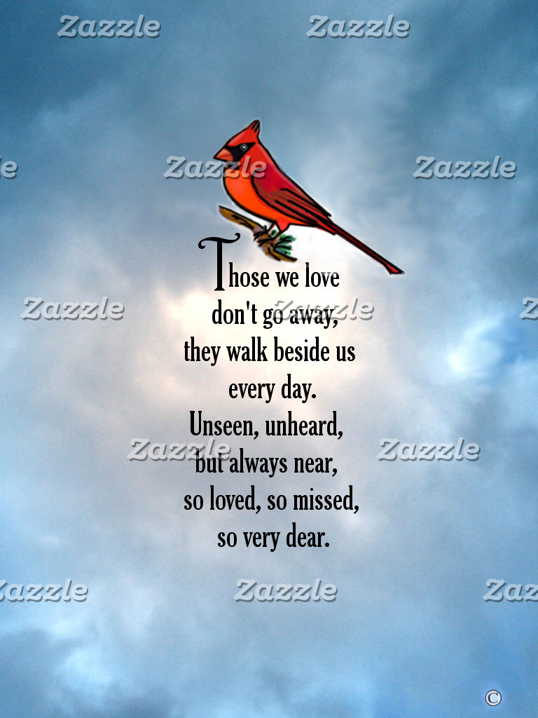"Cardinal ""So Loved"" Poem"