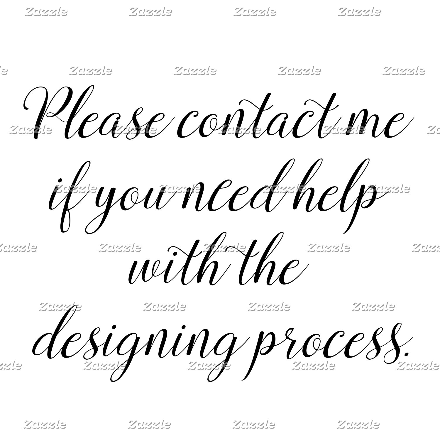 Please Contact Me