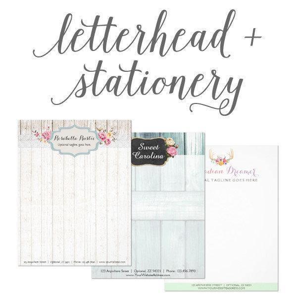 Letterhead & Stationery