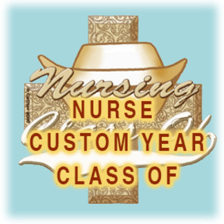 Nursing Grad Class Custom Year