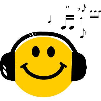 Music loving smiley