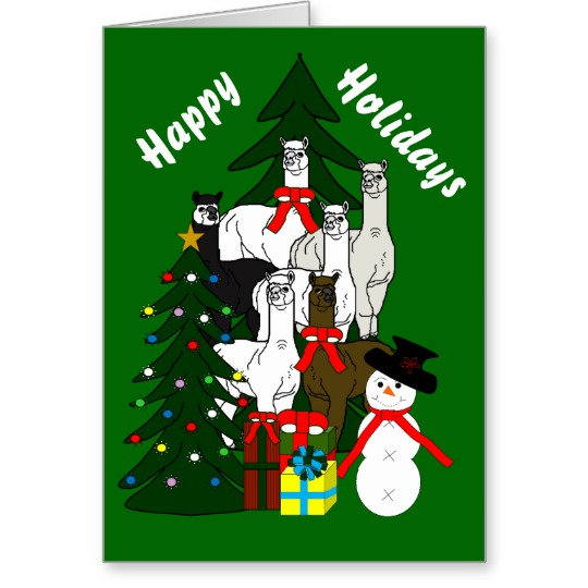 Alpaca Christmas Home Decor Products