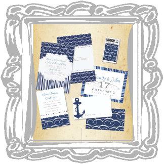 Navy Blue Nautical