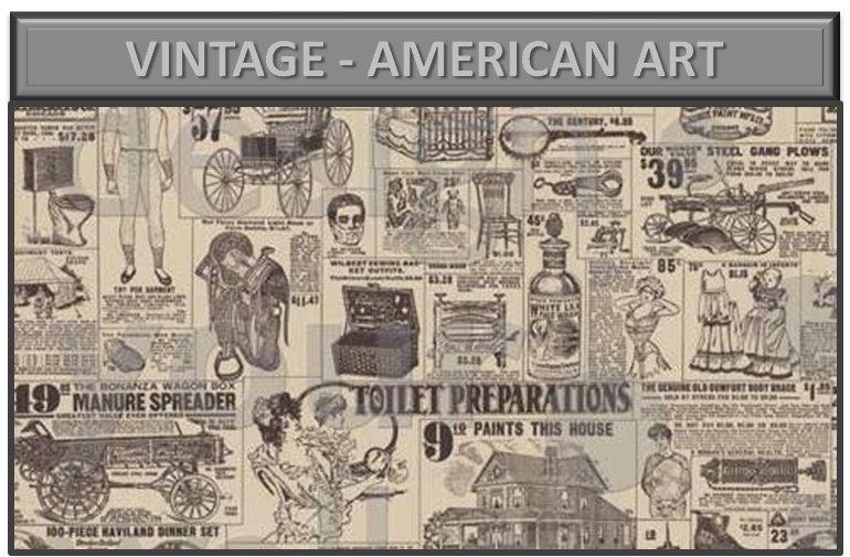 Vintage - american art