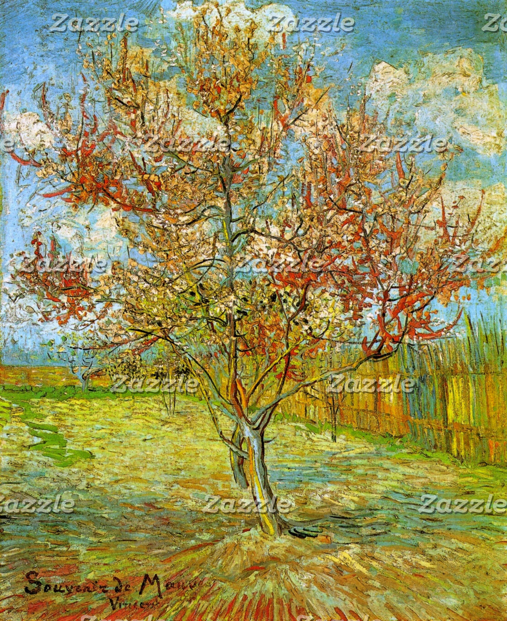 Trees by Vincent van Gogh