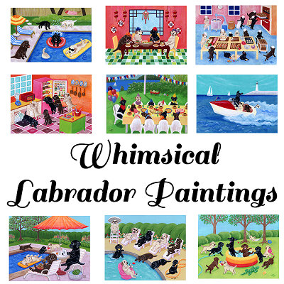 Whimsical Labradors