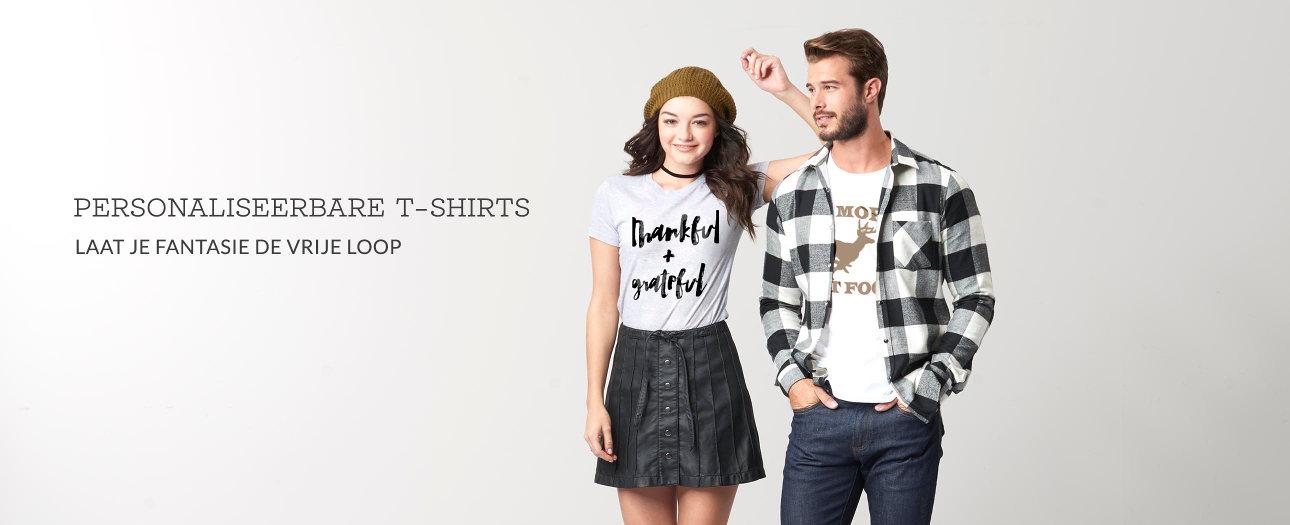 Creëer je eigen T-shirts!