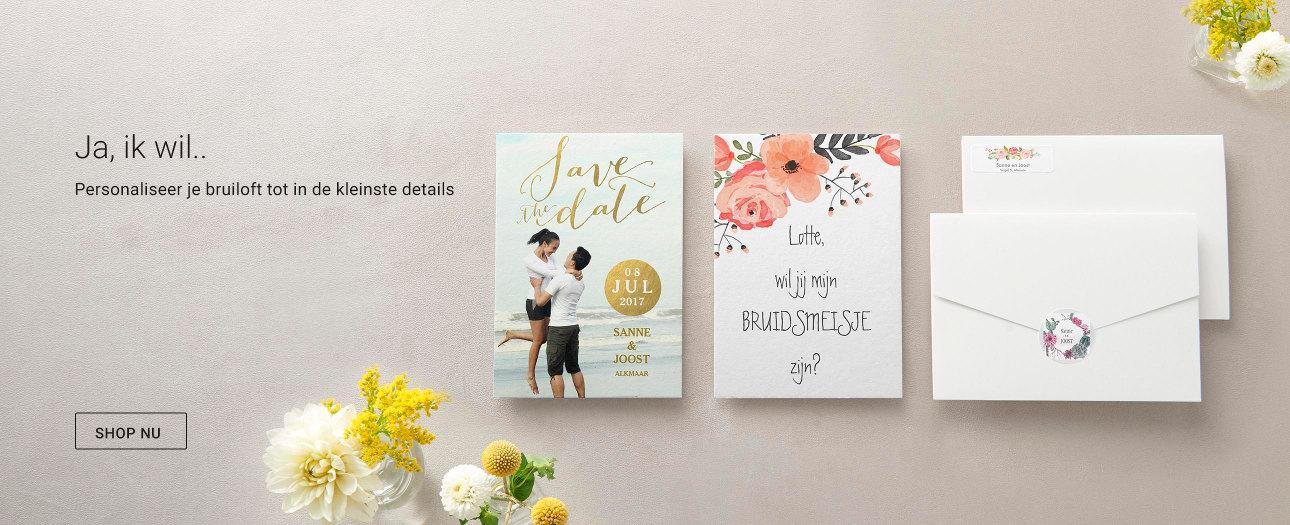 De mooiste en uniekste uitnodigingen en Save the Date voor je huwelijk