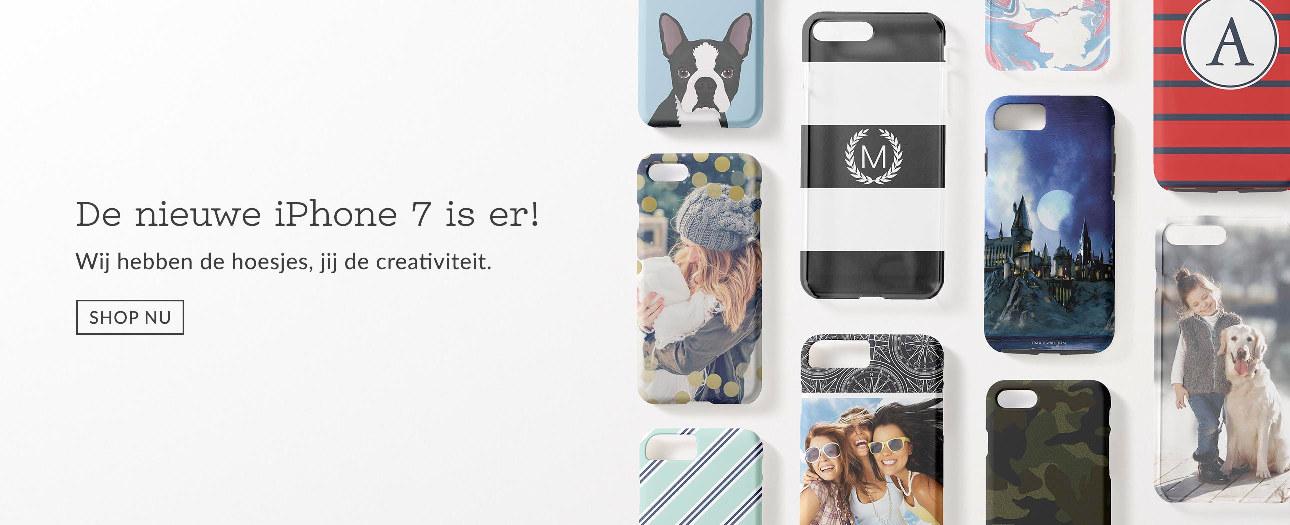 Personaliseerbare iphone 7 hoesjes voor jouw nieuwe telefoon