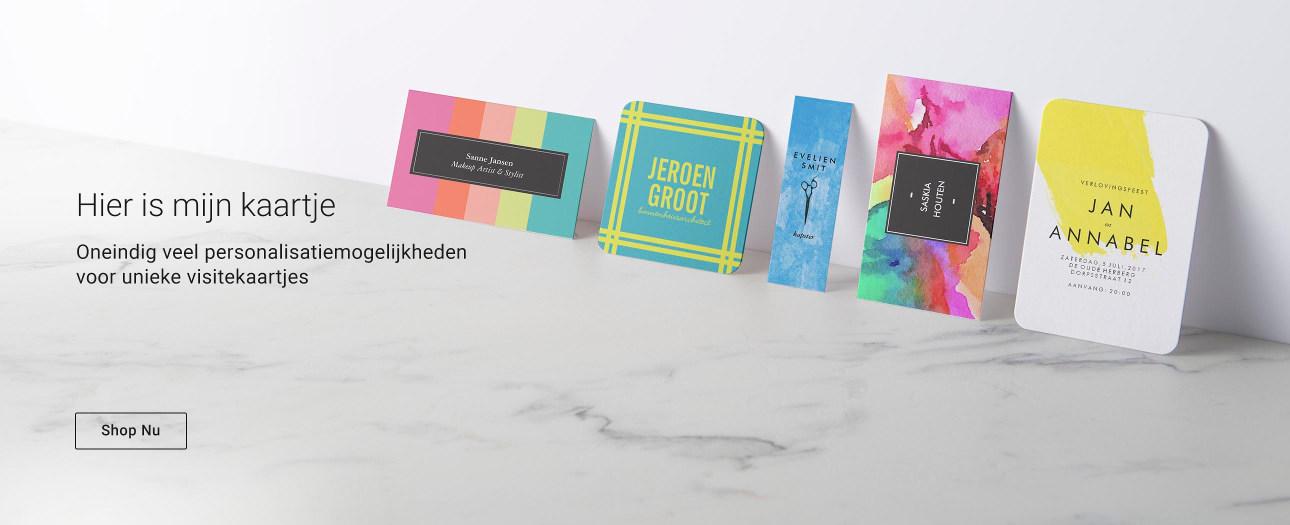 De mooiste en uniekste visitekaartjes bestel je bij Zazzle!