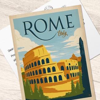 Geïllustreerde briefkaarten