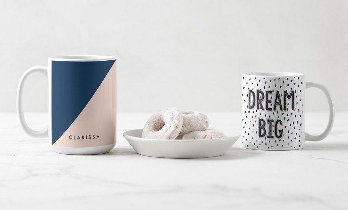 Personaliseer je eigen mok voor het lekkerste koppie koffie!