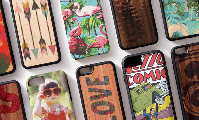Blader door onze selectie iPhone hoesjes en personaliseer per kleur, design of stijl.