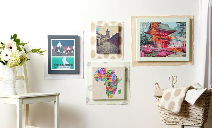 Kunst Afdrukken en Posters