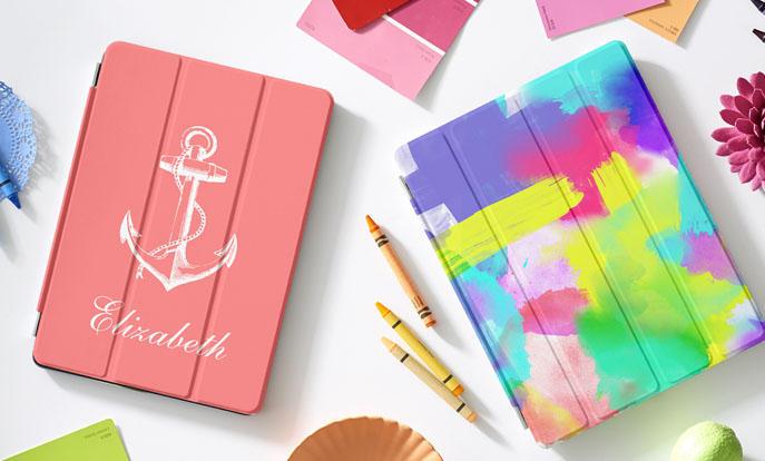 Blader door onze enorme selectie iPad hoesjes en personaliseer per kleur, design of stijl.